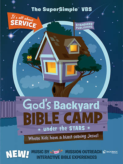 Standard Vacation Bible School 2013 God's Backyard Bible Camp Under the Stars Starter Kit with Cooper Puppet