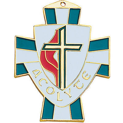 United Methodist Acolyte Pendant