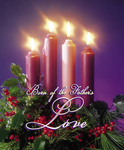 Advent Week 4, Love Bulletin Large (Package of 100)