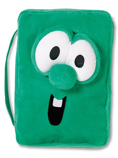 Veggie Larry Plush Medium Bible Cover