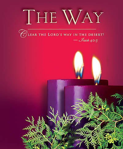 Advent Sunday 2 The Way Bulletin 2014, Large (Package of 50)