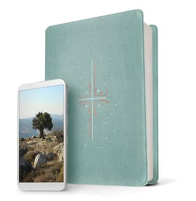Picture of Filament Bible NLT (Leatherlike, Teal, Indexed)