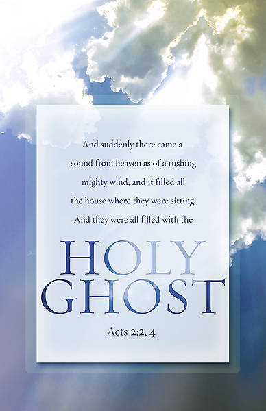 """Holy Ghost"" Pentecost Bulletin"