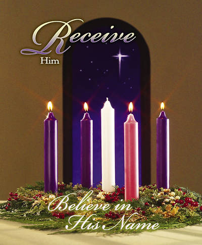 Advent Week 4/Receive Bulletin, Large (Package of 100)