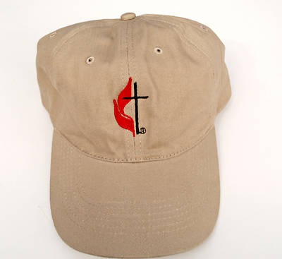United Methodist Tan Baseball Cap