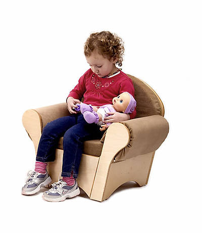 Childs Easy Chair - Tan