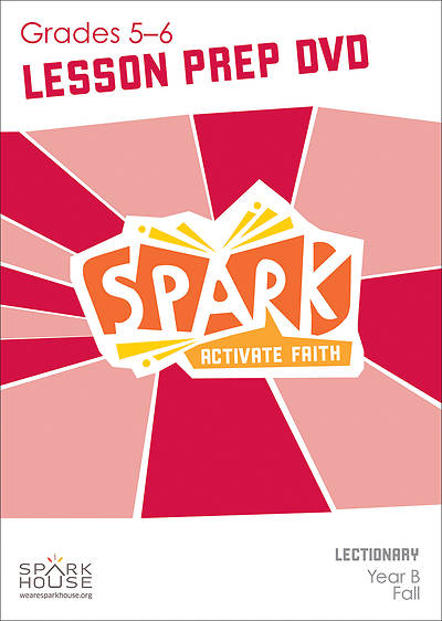 Picture of Spark Lectionary Grade 5-6 Preparation DVD Year B Fall