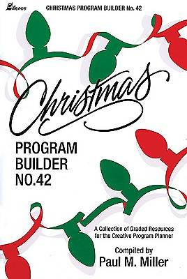 Christmas Program Builder No. 42