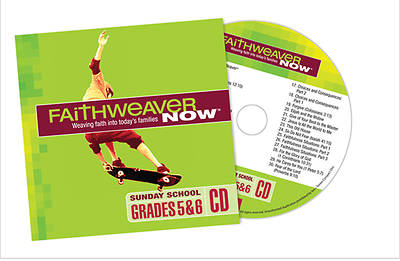 Picture of FaithWeaver NOW Grades 5 & 6 CD Winter 2014-15