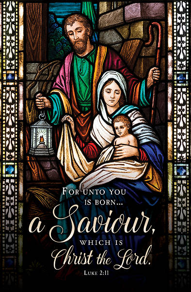 Picture of For Unto You is Born Christmas Regular Size Bulletin