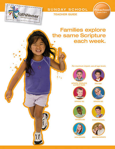 Picture of FaithWeaver Preschool Teacher Guide Fall 2012