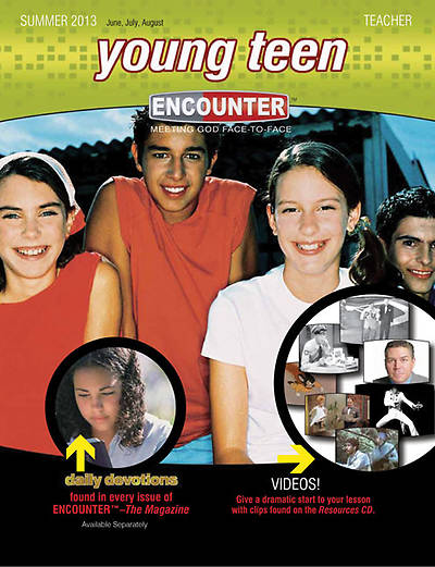 Encounter Young Teen Teacher Book Summer 2013