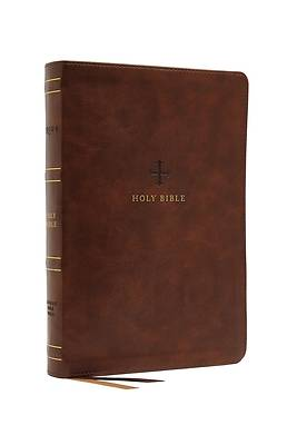 Picture of Nrsv, Catholic Bible, Standard Large Print, Leathersoft, Brown, Comfort Print