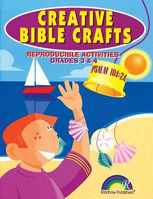 Creative Bible Crafts-Grades 3 & 4