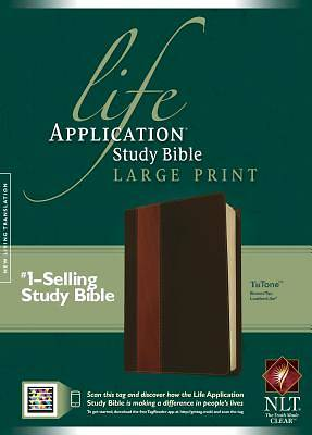 Life Application Study Bible NLT, Large Print, Tutone