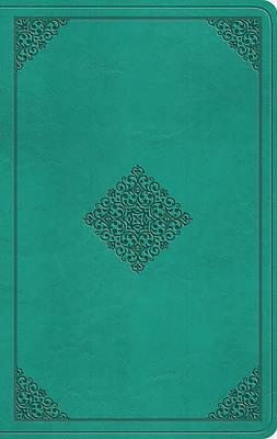 Picture of ESV Value Thinline Bible (Trutone, Teal, Ornament Design)