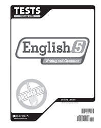 Picture of English 5 Tests Answer Key 2nd Edition