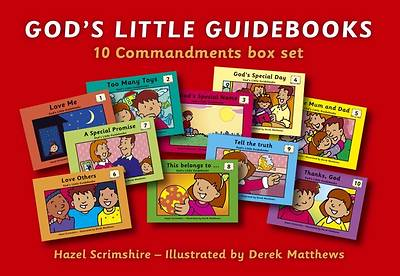 Gods Little Guidebooks Ten Commandments Box Set