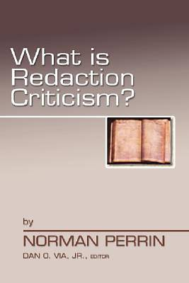 Picture of What is Redaction Criticism?