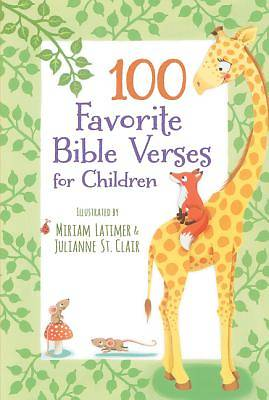 Picture of 100 Favorite Bible Verses for Children