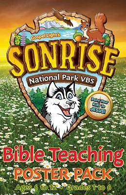 Gospel Light Vacation Bible School 2012 SonRise National Park Grades 1 Thru 6 Bible Teaching Poster Pack