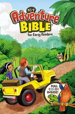 Adventure Bible for Early Readers, NIRV, Lenticular (3D Motion)