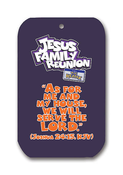 UMI VBS 2013 Jesus Family Reunion: The Remix Dog Tag Necklace