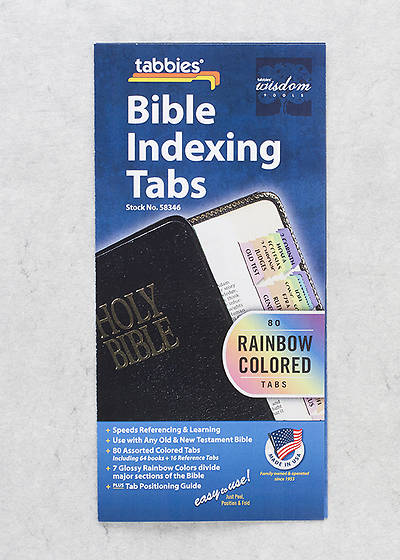Bible Tab Rainbow