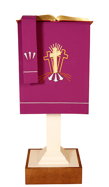 Picture of Abbott Hall Vision Series N5449A Lent Lectern Scarf