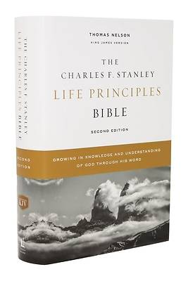 Picture of Kjv, Charles F. Stanley Life Principles Bible, 2nd Edition, Hardcover, Comfort Print