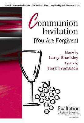 Communion Invitation Anthem