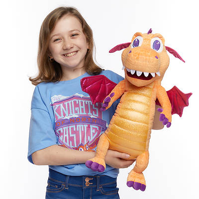 Picture of Vacation Bible School (VBS) 2020 Knights of North Castle Sparky the Dragon Puppet