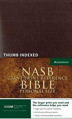 Picture of Giant Print Reference Bible-NASB