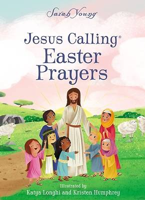 Picture of Jesus Calling Easter Prayers