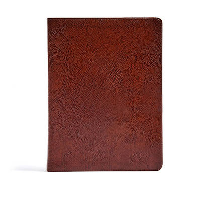 Picture of CSB Verse-By-Verse Reference Bible, Brown Bonded Leather