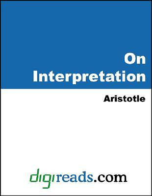 On Interpretation [Adobe Ebook]