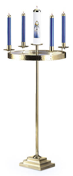 Artistic RW 1180 Brass Advent Wreath
