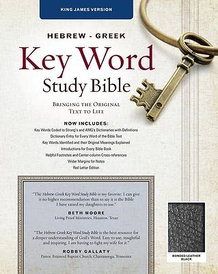 Picture of Bible Hebrew-Greek Key Word Study