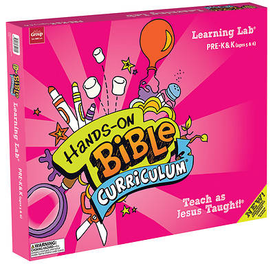 Picture of Hands-On Bible Curriculum Pre-K & K Learning Lab Fall 2016