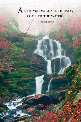 Picture of Waterfall Scripture Series Bulletin (Pkg of 50)