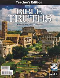 Bible Truths E Grade 11 Teachers Edition with CD 3rd Edition