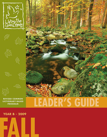 Living the Good News Fall Leaders Guide 2009 [Adult]