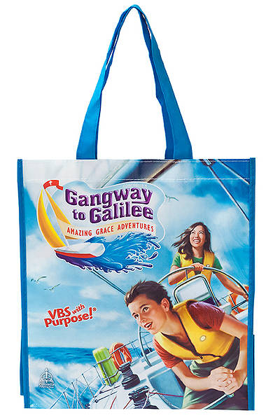 Concordia Vacation Bible School 2014 Gangway to Galilee Tote Bag (pkg 5)