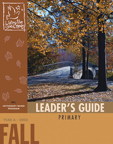 Picture of Living the Good News Fall Leader's Guide 2008 [Revised Common Lectionary Version]