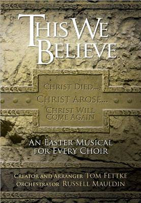 This We Believe Choral Book