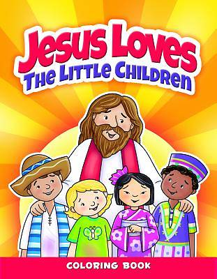 Color and ACT Bks - Jesus Loves Little Children - Pre School
