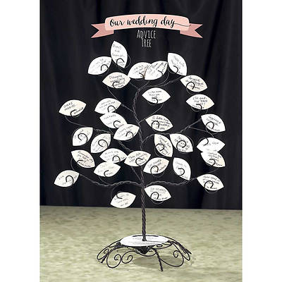 Picture of Wedding Advice Tree Display