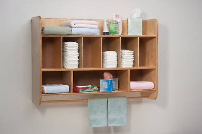Picture of Whitney Brothers WB4646 Wall Mounted Diaper Storage