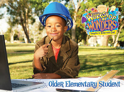 Vacation Bible School (VBS) 2014 Workshop of Wonders Older Elementary Student Book (Grades 3-6)