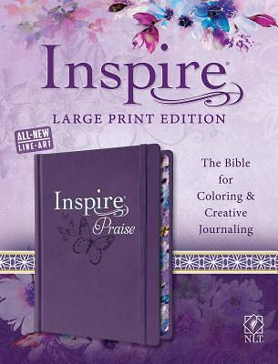 Picture of Inspire Praise Bible Large Print NLT